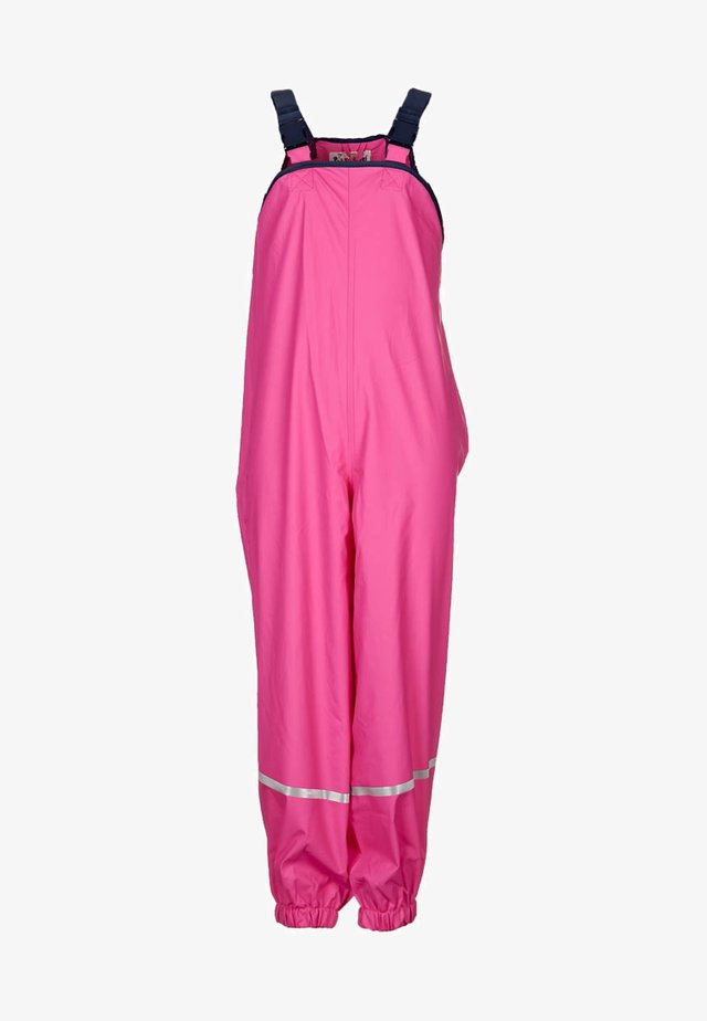 Kalhoty do deště - pink