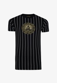 Ed Hardy - ROAR-TOUR T-SHIRT - Print T-shirt - black - 3