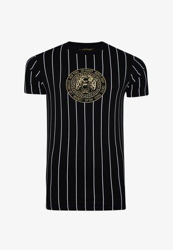 ROAR-TOUR T-SHIRT - Print T-shirt - black