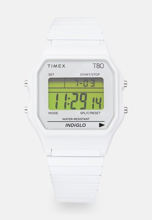T80 UNISEX - Digitální hodinky - white