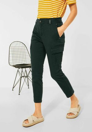 LOOSE FIT PAPERBAG - Cargo trousers - grün
