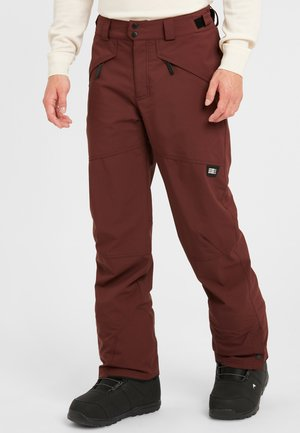 HAMMER - Pantalon de ski - chocolate