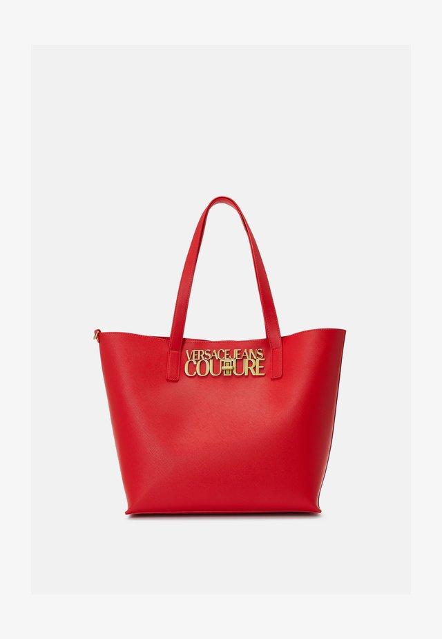 SAFFIANO LOCK - Shopper - rosso