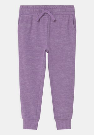 SUPER SOFT - Tracksuit bottoms - grape soda