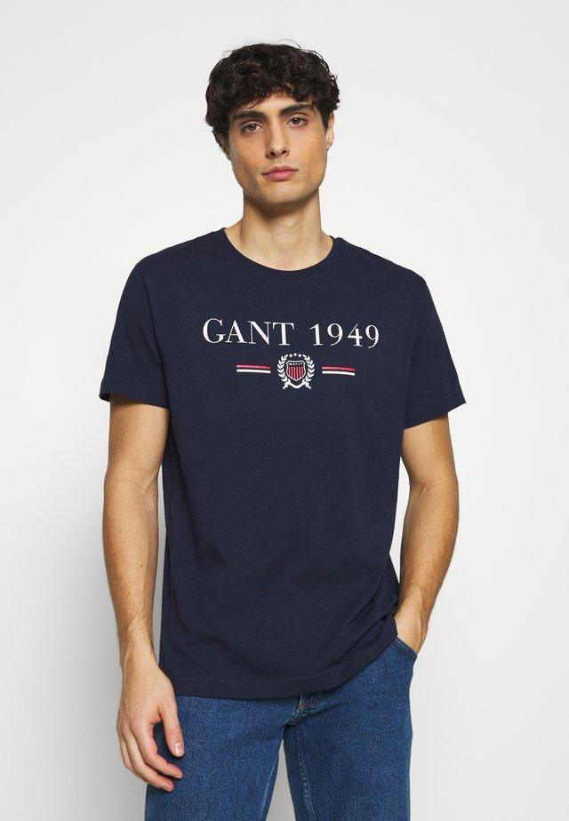 1949 CREST  - T-shirt imprimé - evening blue