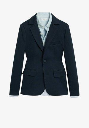 Blazer jacket - bleu marine foncé