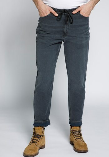 MODERN - Jeans Tapered Fit - grey denim