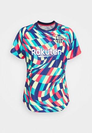 FC BARCELONA DRY - Club wear - blue void/limelight