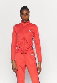adidas Performance - TEAMSPORTS  - Survêtement - red - 0
