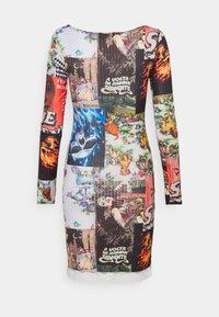 NEW girl ORDER - PATCHWORK MINI DRESS - Kjole - multi - 1