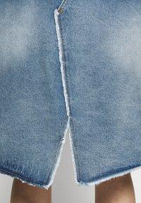 MM6 Maison Margiela - Denim skirt - blue - 4