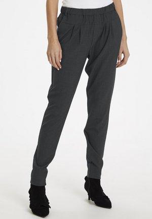 SARAH - Pantalon classique - dark grey melange