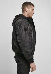 Brandit - HOODED  - Light jacket - black - 4