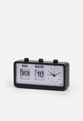 RETRO FLIP CLOCK UNISEX - Tech accessory - matte black