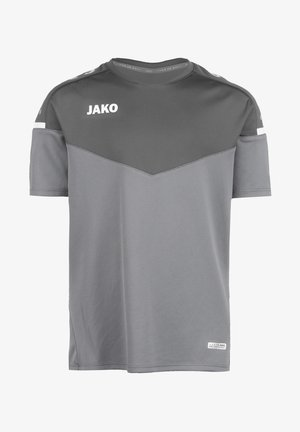 CHAMP 2.0 - Print T-shirt - steingrau / anthra light