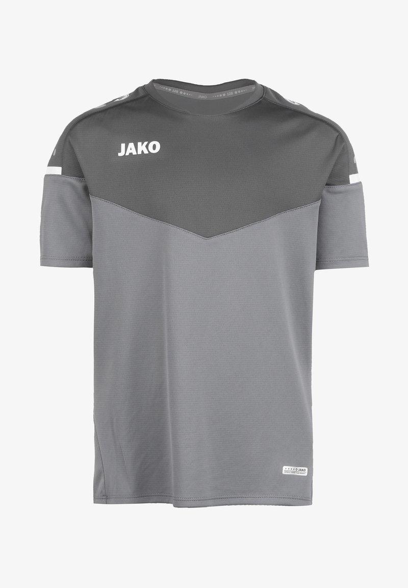 JAKO - CHAMP 2.0 - Print T-shirt - steingrau / anthra light