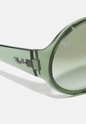 Sunglasses - transparent green