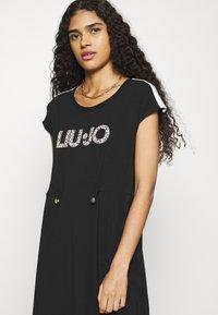 Liu Jo Jeans - ABITO - Jersey dress - nero - 3