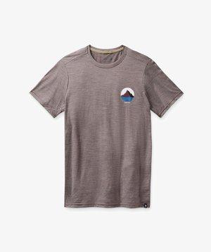 T-shirt med print - sparrow heather