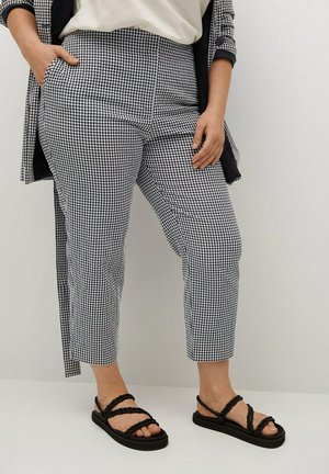 VICKY - Trousers - black