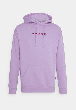 UNISEX - Jersey con capucha - lilac
