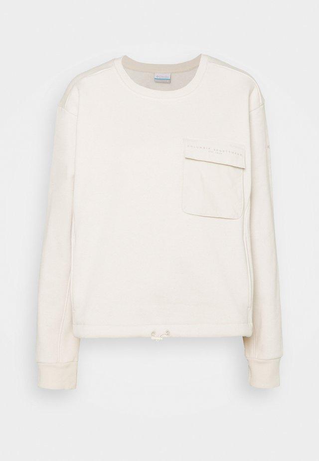 LODGE III CREW - Sweater - fawn