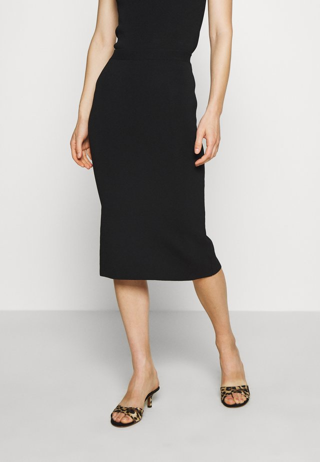 THE PENCIL SKIRT - Kynähame - black