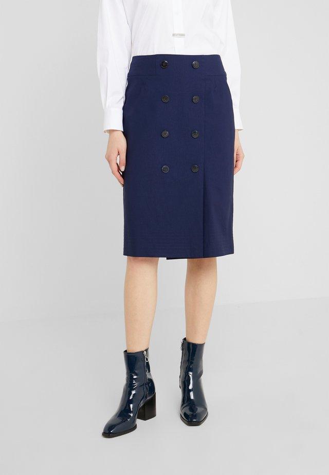 JOSEFINE SKIRT - Pencil skirt - navy