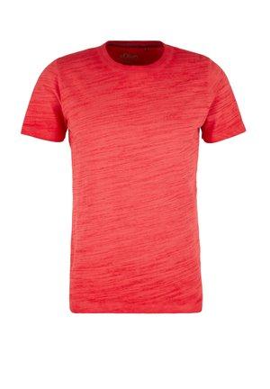 T-SHIRT KURZARM - Basic T-shirt - red