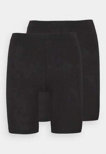 PCKIKI 2 PACK - Shapewear - black