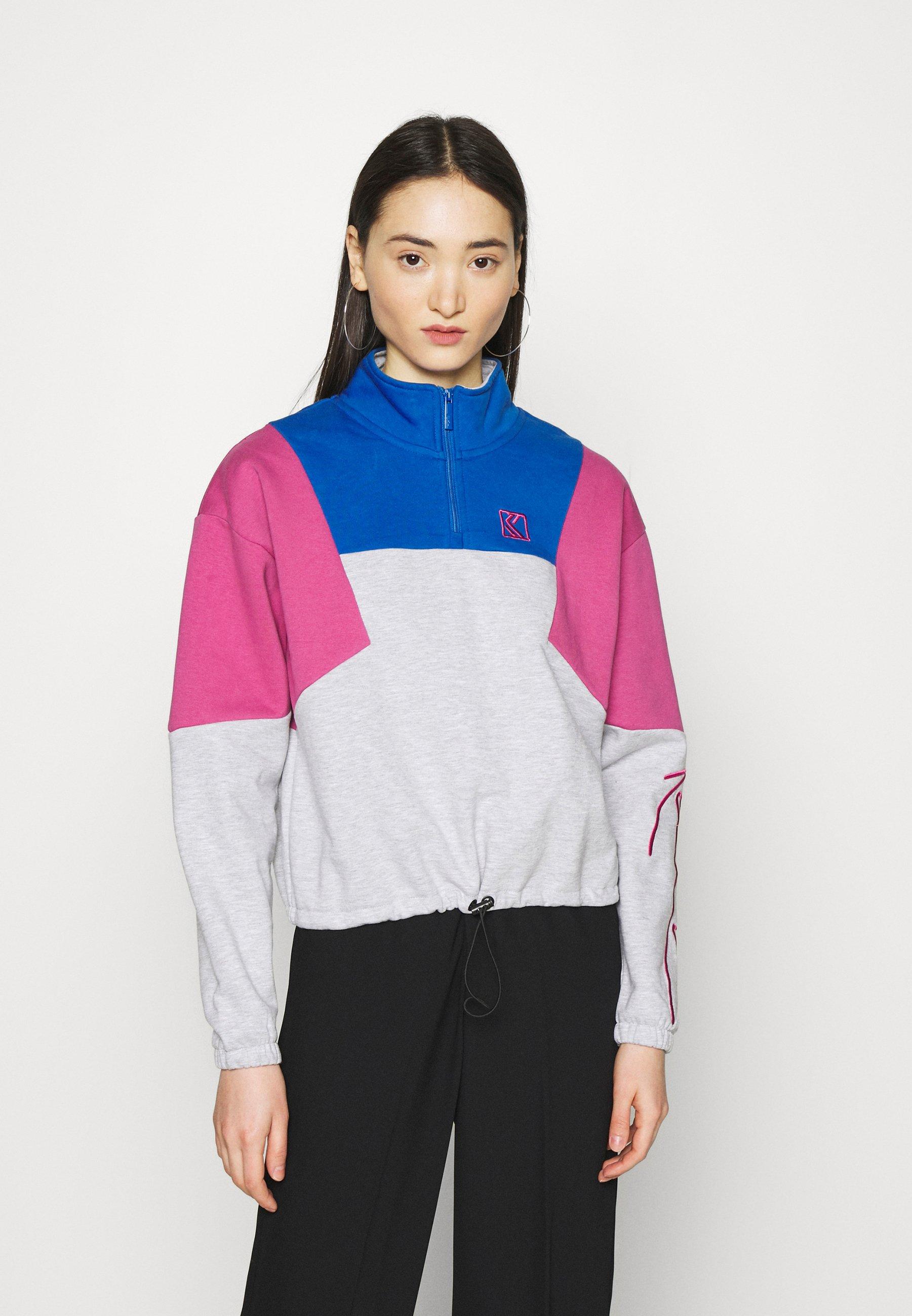 Femme SIGNATURE BLOCK TROYER - Sweatshirt