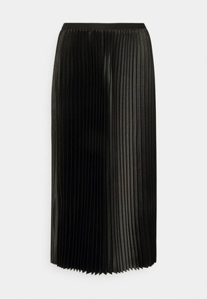 RURY - Pleated skirt - black