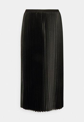 RURY - Pleated skirt - black