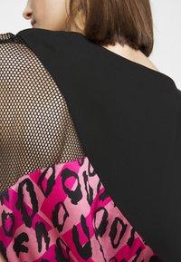 Just Cavalli - Denní šaty - fuxia variant - 5