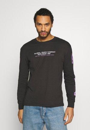 LONG SLEEVE - Långärmad tröja - black