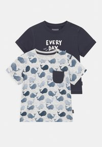 Staccato - 2 PACK - Print T-shirt - dark blue - 0