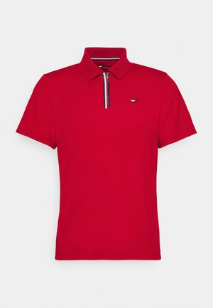 STRIPE TRAINING - Polo - red