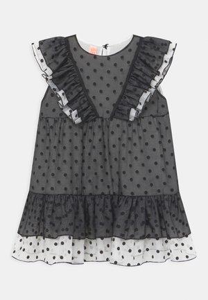 OLINE DOT  - Koktejlové šaty/ šaty na párty - black /white
