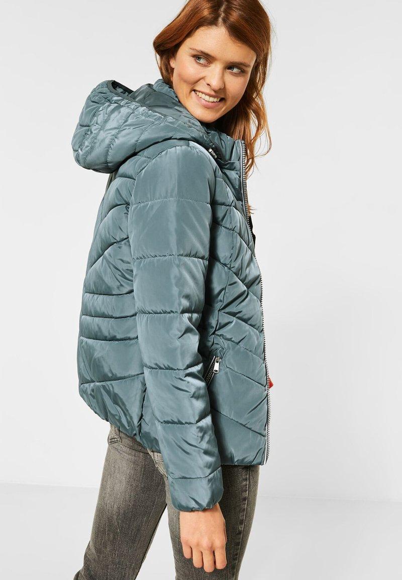 Cecil - GESTEPPTE - Winter jacket - grün