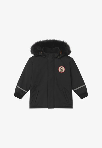 K2 PARKA - Zimní kabát - black