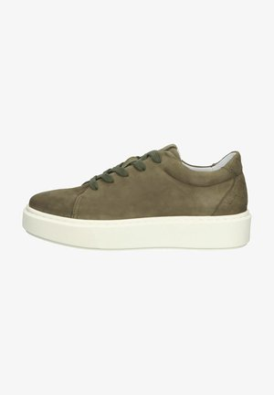 Sneakers laag - moss green