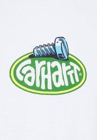 Carhartt WIP - SCREW - Long sleeved top - white - 7