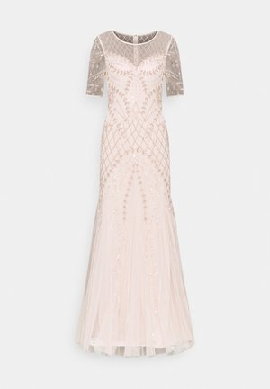 BEADED GODET GOWN - Occasion wear - shell