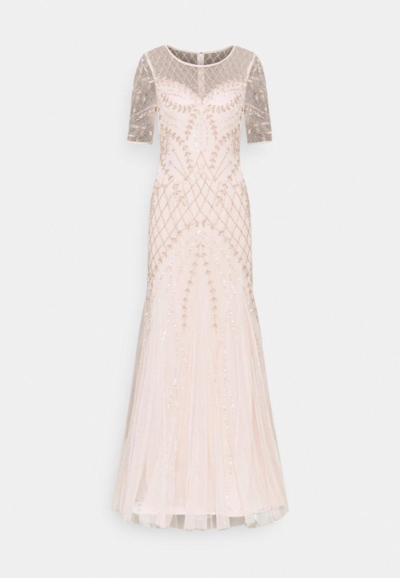 Adrianna Papell - BEADED GODET GOWN - Occasion wear - shell