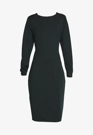 TWIST BACK BODYCON DRESS - Robe de soirée - dark green