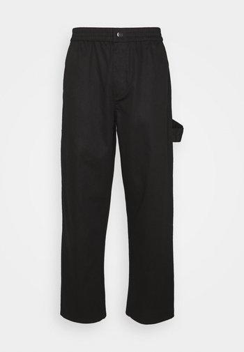ROMEOVILLE TROUSERS UNISEX - Pantalon cargo - black