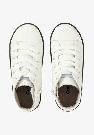 STREET STYLE DEPORTIVA - Zapatillas altas - blanco