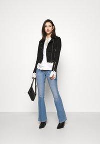 Miss Selfridge - BIKER - Summer jacket - black - 1