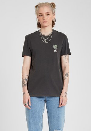 LOCK IT UP TEE - Print T-shirt - black