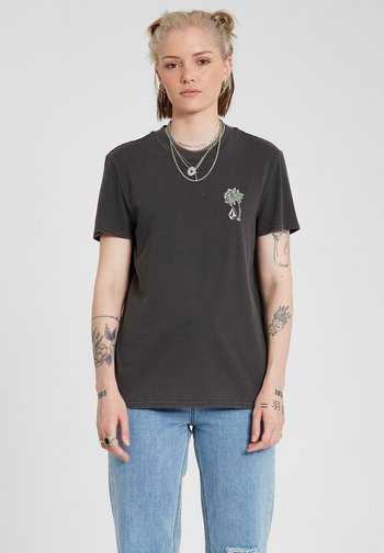 LOCK IT UP TEE - Print T-shirt - black